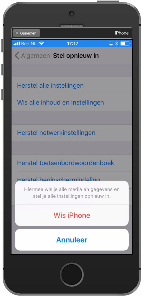 iphone-leegmaken