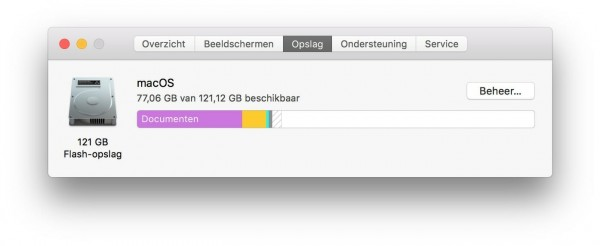 Storage Mac. Mac is slow